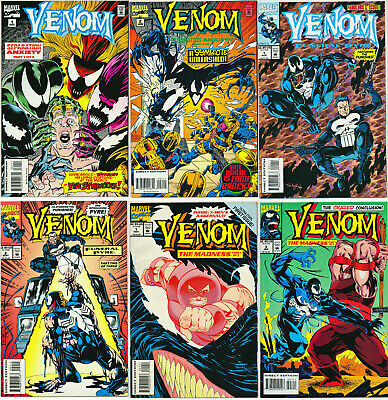 Venom 6 Comic Lot Separation Anxiety Funeral Pyre Madness Absolute Carnage