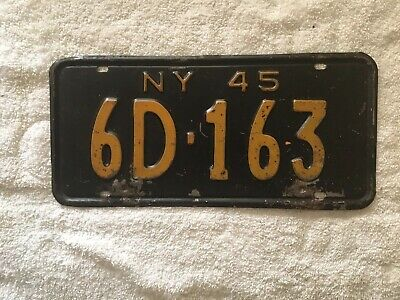 Corleone The Godfather 1945 NY New York Reproduction Aluminum License Plate Tag