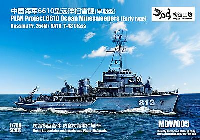 Russian Project 50 Riga Class Guild Missile Frigate Doggy Industries resin