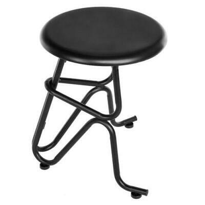 Round Antique Style Bar Stools Seat Iron Chair Strong and Stable