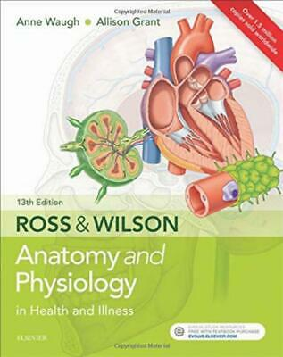 Ross Wilson Anatomy And Physiology In Health And Illness 13e New Paperback Book