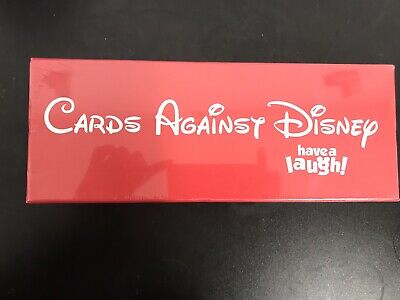 Cards Against Disney Red Box Limited Edition New Sealed 828 Cards