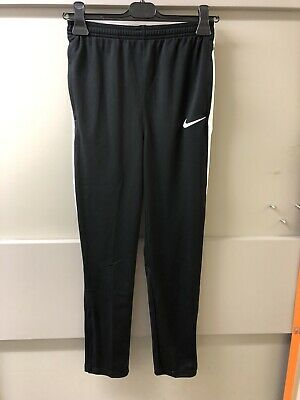 BNWT NIKE DRY ACADEMY Black White Boys Joggers Tracksuit Bottoms XL 14 16 YEARS