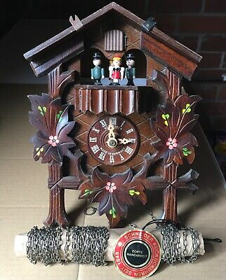 SCHNEIDER CUCKOO CLOCK. Used. Not working. Selling for restoration or spares.b