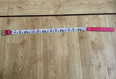 Sanrio Hello Kitty & Friends Pink & White Stretch Belt