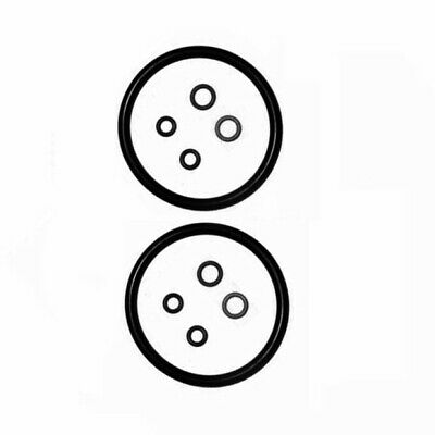 Washer O-rings Soda Black Accessory Equipment 2 Sets Replacement Seal New
