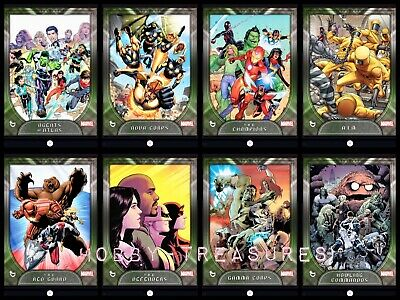 Topps MARVEL COLLECT DIGITAL Card FACTIONS SERIES1 [8 CARD SET] AWARD READY