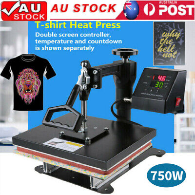 DIGITAL HEAT PRESS MACHINE CAP HAT TRANSFER SUBLIMATION VINYL PRINTING 23*30cm