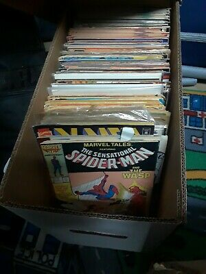 LOT OF (50) Marvel, DC & Indie Comic Books~1970s to Modern Age~Mystery Grab