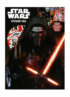 New Star Wars The Force Awakens Sticker Pad For Kids Ststp