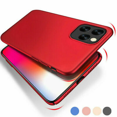 Solid Ultra Thin Phone Case Protective Shell For iPhone 11 / 11 Pro / Pro Max