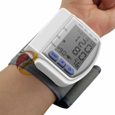 Full Automatic Wrist Electronic Sphygmomanometer, Blood Pressure Monitor , Blood