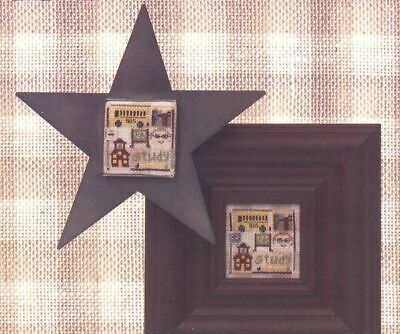 Twisted Threads SEPTEMBER STUDY Cross Stitch Leaflet Only~back-to-school sampler