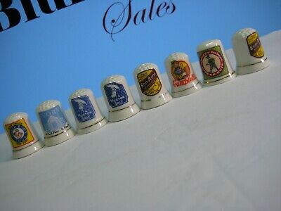 Advertising Thimbles Country Store Collection by Franklin Mint Bon Ami Morton
