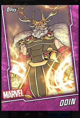 Topps Marvel Collect Odin Pink Tier 6 Card Wheel Digital Card