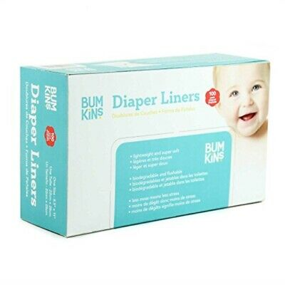660 Pack Bamboo Flushable Liners Nappy Insert Cloth Biodegradable Natural Liner