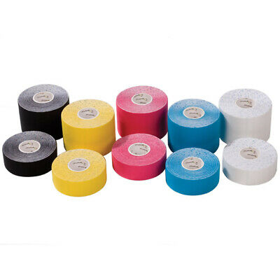 PhysioRoom Kinesiology Elastic Sports Tape Muscle Support  5cm x 5m White