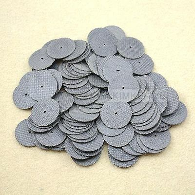 Pack of 100 Reinforced Cut Off Wheels for Dremel 1 1/4