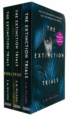 The Extinction Trials Trilogy 3 Books Collection Set By S.M. Wilson Rebel,Exile