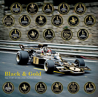 Black & Gold : The Story of the John Player Specials - Standard Edition