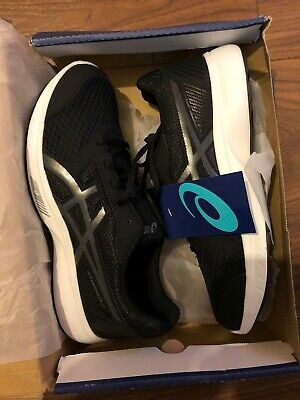 Asics Gel Stomer 2 Black/ White BRAND NEW BOXED WITH TAGS FREE P&P