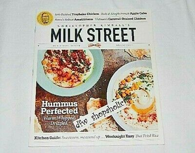 Christopher Kimball MILK STREET Special 2019 Issue Home Cooking Recipes HUMMUS