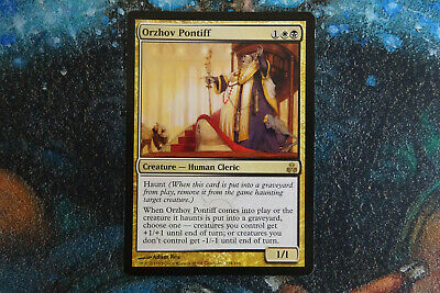 Mtg Guildpact Orzhov Pontiff Condition Excellent 2 39 Picclick Uk Return target creature card from a graveyard to the battlefield tapped. picclick uk