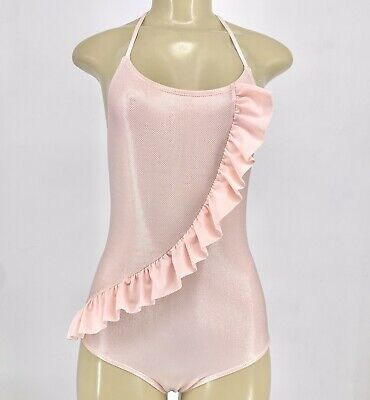 Cat & Jack Kids Girls Swimsuit One Piece Shimmer Sz 10/12 Large