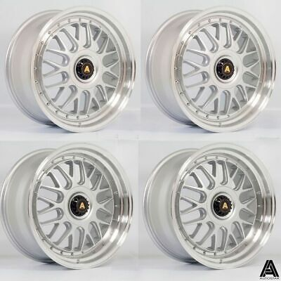 """Autostar Monza S 19"""" Staggered 5x112 et45 alloys fit VW Scirocco 08 on"""