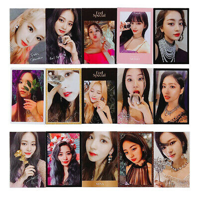 TWICE - 8th Mini Album Feel Special Photocard Tzuyu Mina Sana Momo Nayeon Jihyo