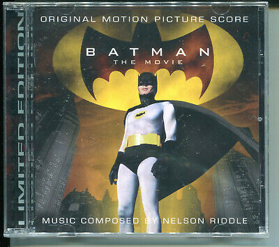 Nelson Riddle BATMAN THE MOVIE(1966) Limited Edition SOUNDTRACK OOP LaLa Land CD