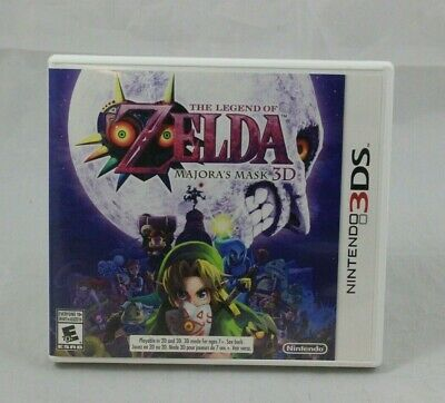 The Legend of Zelda: Majora's Mask 3D (Nintendo 3DS, 2015) Tested and Working