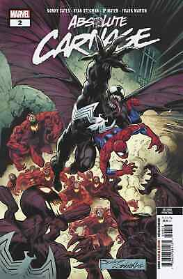 ABSOLUTE CARNAGE 2 (of 4) MARK BAGLEY 3rd PRINT VARIANT NM