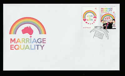 Australia 2019 : Marriage Equality - First Day Cover. Mint Condition