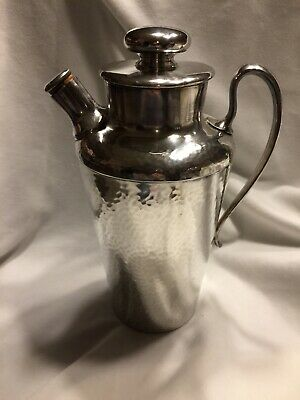 Antique Cocktail Shaker Meriden S.P. Co.International Silver Co. #313