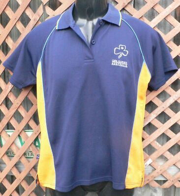 GIRL GUIDES size 18 girls vg pre-loved cond GUIDES SHIRT