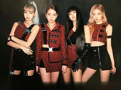 LOT 5 BLACKPINK Japan Flyer 2019-2020 World Tour In Your Area Chirashi K-POP
