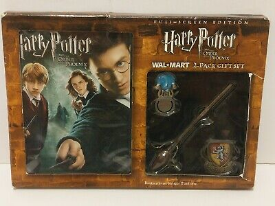 Harry Potter And The Order Of The Phoenix Dvd With Gift Set