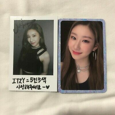 ITZY IT'z ICY Album Chaeryeong Photocard SET