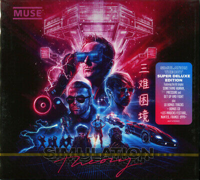 Muse - Simulation Theory: Super Deluxe Edition 2CD
