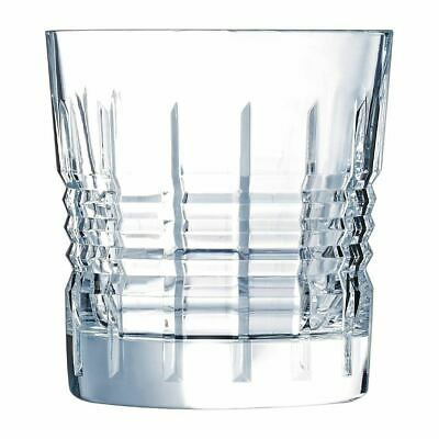 Arcoroc Cristal dArques Rendez - Vous Old Fashioned Crystal Glasses 320ml Box 24