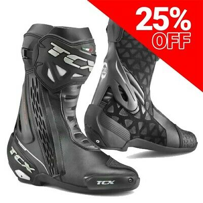 TCX RT-Race Waterproof Motorcycle Sports Boots
