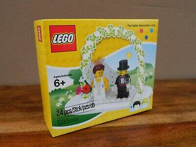 Bride /& Groom #853340-24pcs Brand New! LEGO Minifigure Wedding Favor Set