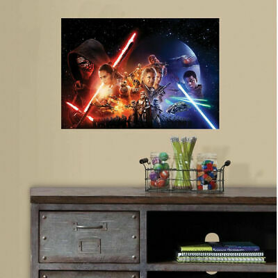 Star Wars Vinyl Print Poster Wall Sticker Kids Mural Decal Boys Nursery Decor