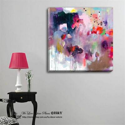 Abstract Stretched Canvas Print Framed Wall Art Home Decor Painting Gift Hanging