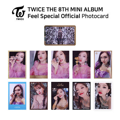 TWICE - 8th Mini Album Feel Special Official Photocard - NAYEON