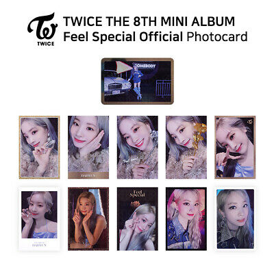 TWICE - 8th Mini Album Feel Special Official Photocard - DAHYUN