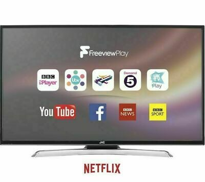 """JVC LT-39C770 39"""" SMART LED TV Built-in WiFi & Freeview Play HD (Ref 32 40 42)"""