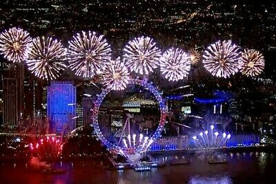 London New Year Fireworks December 2019 Tickets 1 Pink Area