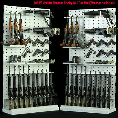 1/6 Scale  002 Weapon Modular Arms Display Wall Gun Rack Stand Fit 12'' Soldier